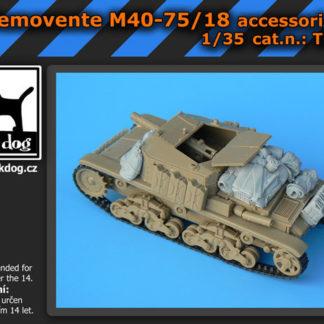 MODEL VICTORIA ITALIAN SEMOVENTE CREW Scala 1:35 Cod.4043