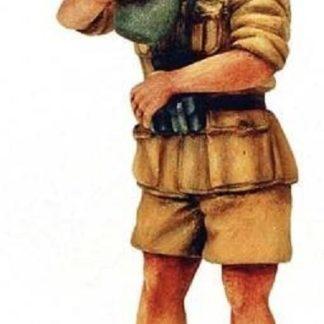 MODEL VICTORIA ITALIAN AGENTE DI POLIZIA POLICEMAN 1:35 4019