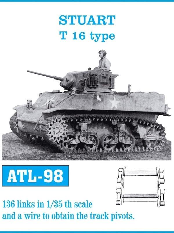FRIULMODEL METAL TRACKS CROMWELL MK IV Scala 1//35 Cod.ATL-43